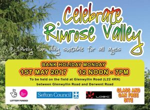 Come Celebrate Rimrose Valley this May Day Bank Holiday!