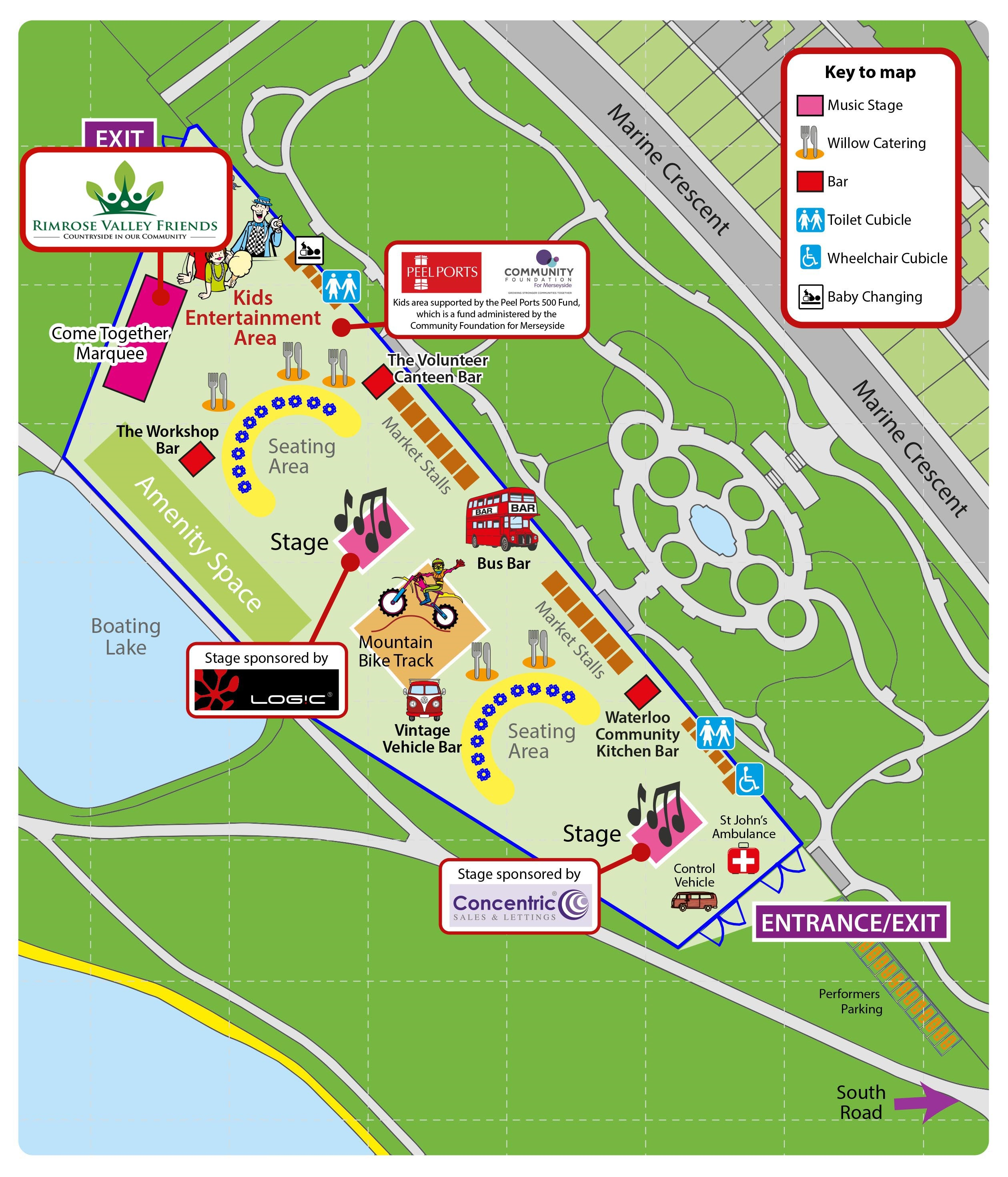 To See A High Quality Map Of The Event And Where To Find Us