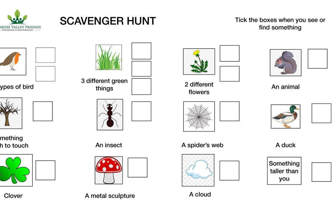 Rimrose Scavenger Hunt!