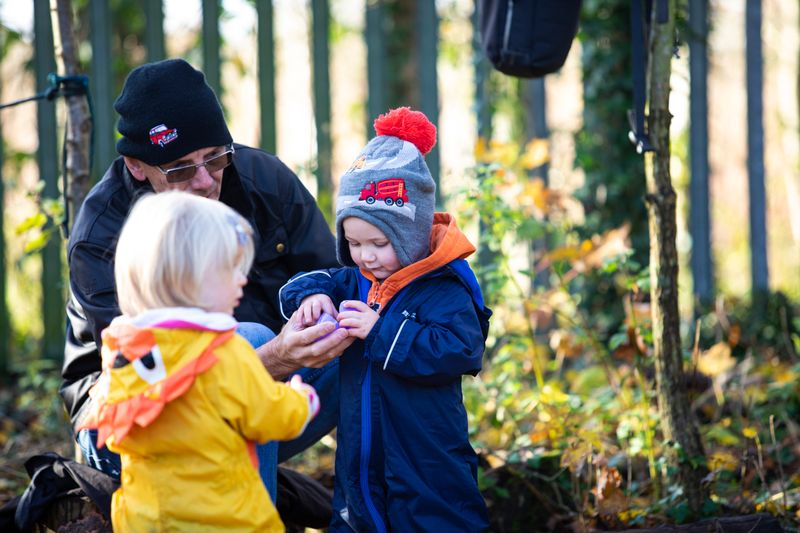 Forest School on Rimrose Valley 24th & 25th August