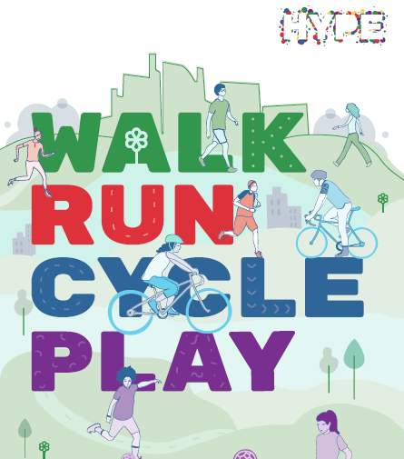 WALK-RUN-CYCLE-PLAY! Every Sunday in August and Sunday 5th Sept
